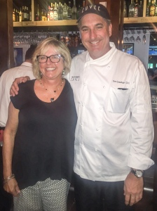 Donna and Chef Tim